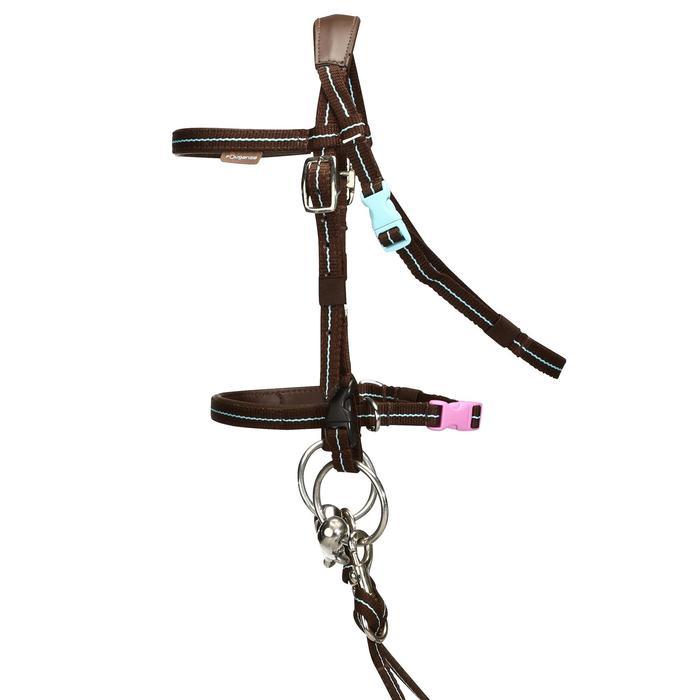 Filet + rênes équitation cheval et poney INITIATION - 765763