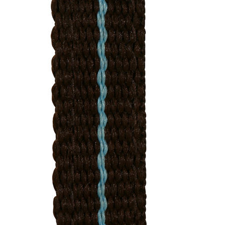 Initiation Horse Riding Pony Bridle + Reins - Brown/Sky Blue