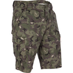 Men's Bermuda Shorts 500 Camo Island Green