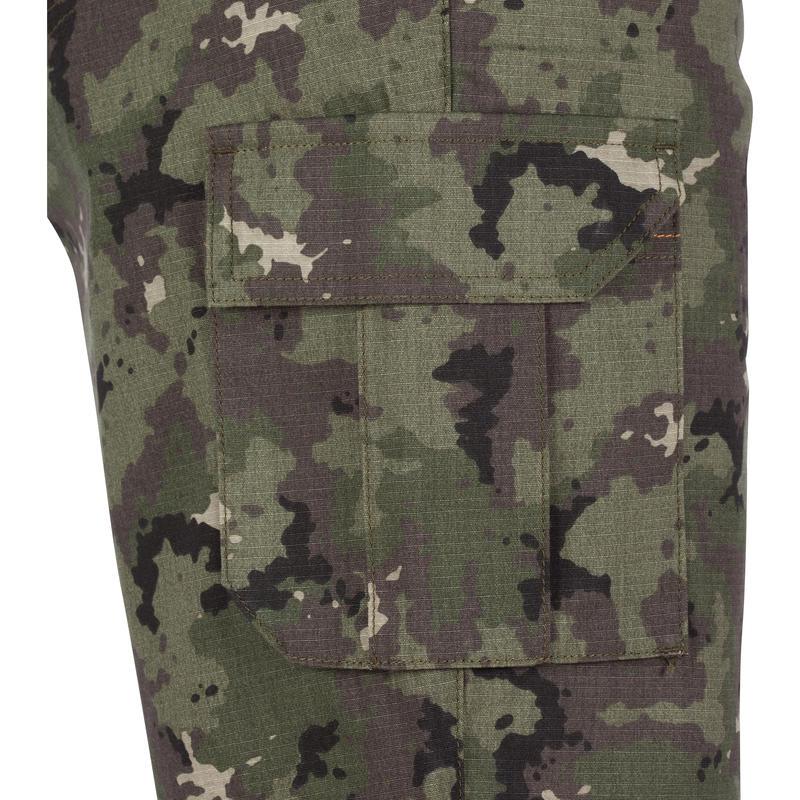 Bermuda hunting shorts 500 camo island green