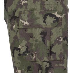 Bermuda chasse 500 camouflage island vert