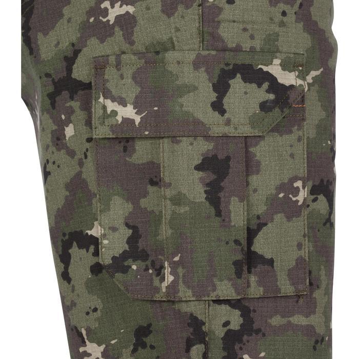 Jagdshorts 500 Camouflage grün
