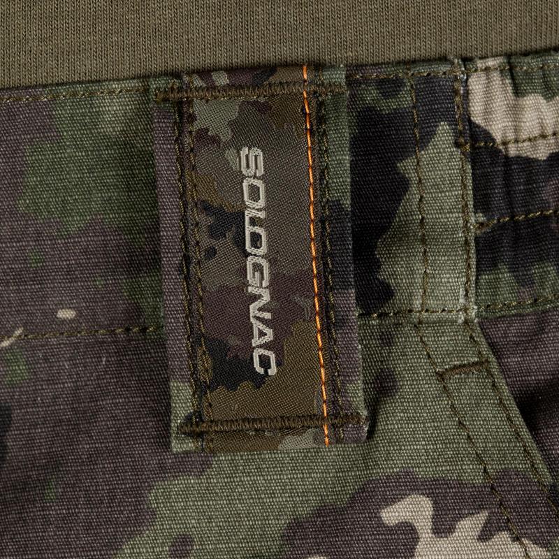 Bermuda 500 Camouflage Shorts - Island Green