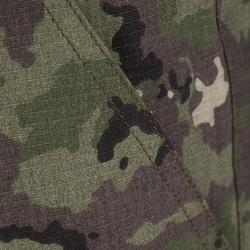 Jagersbermuda 500 camouflage island groen