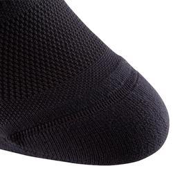 Calcetines Fitness Cardio Domyos Adulto Negro Pack 2 Cortos