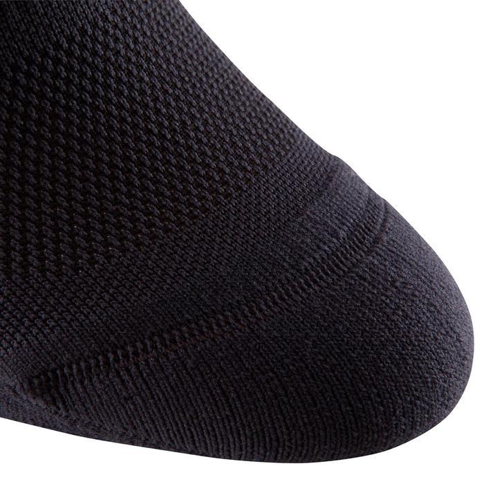 Chaussettes basses fitness  cardio training x2 noir