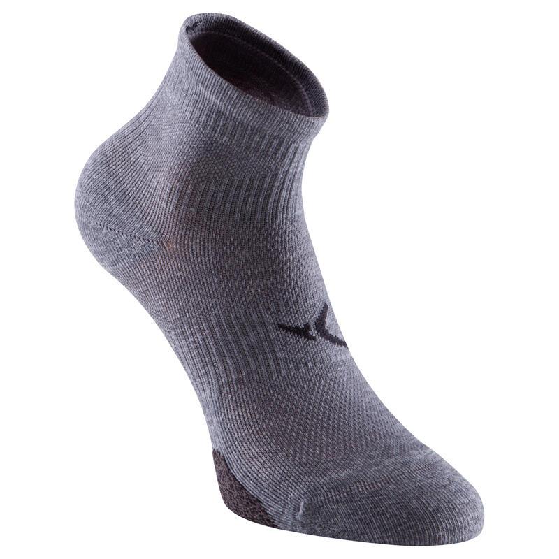 Fitness / Kardiyo Çorabı - Kısa Konçlu - x2 - Gri