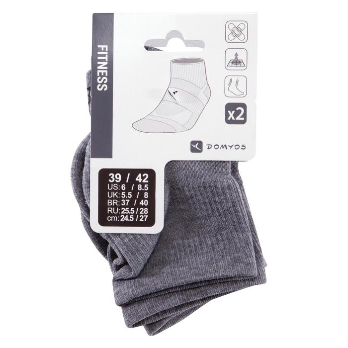Chaussettes basses fitness  cardio training x2 - 766685