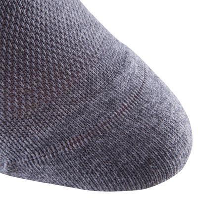 גרבי ספורט נמוכים - אריזת זוג - אפור