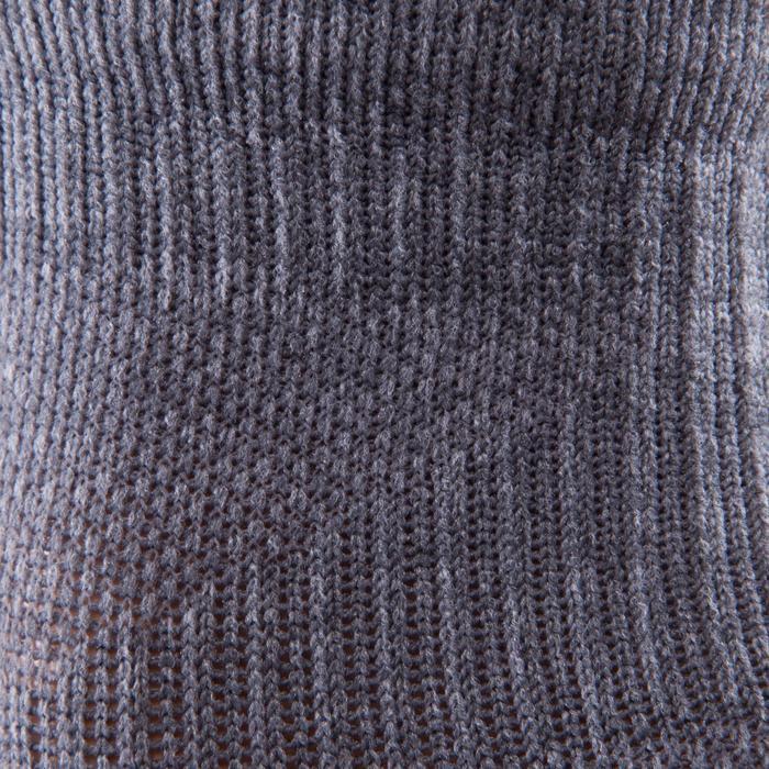 Lage cardiofitness sokken 2 paar grijs