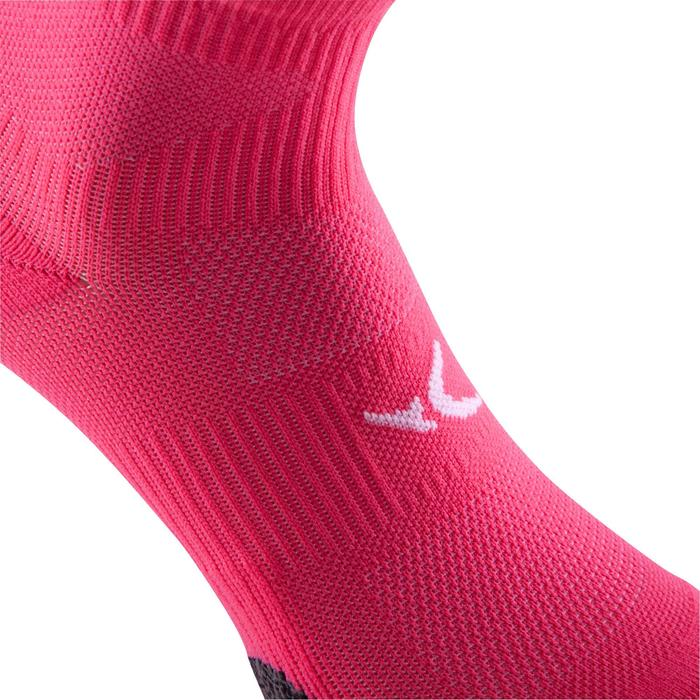 Chaussettes basses fitness cardio training x2 rose