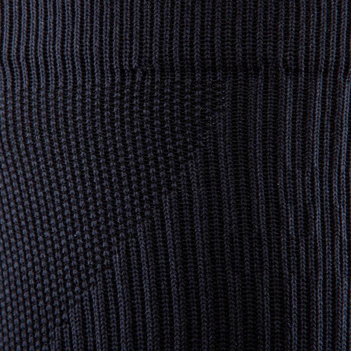 Hoge fitnesssokken zwart
