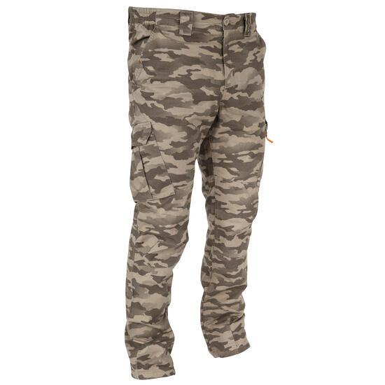 Broek 500 camouflage half tone, licht en fris - 767170