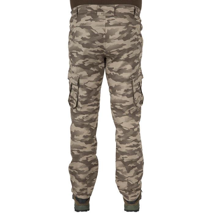 Pantalón de caza 500 camuflaje Half Tone Verde, ligero y fresco