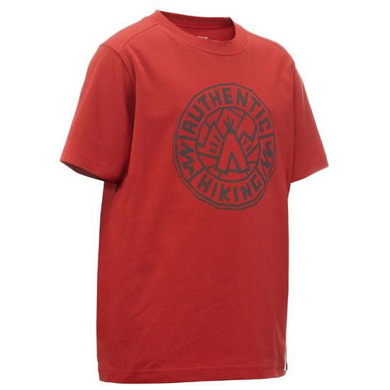 Jongens T-shirt voor wandelen Hike 500 - 767254
