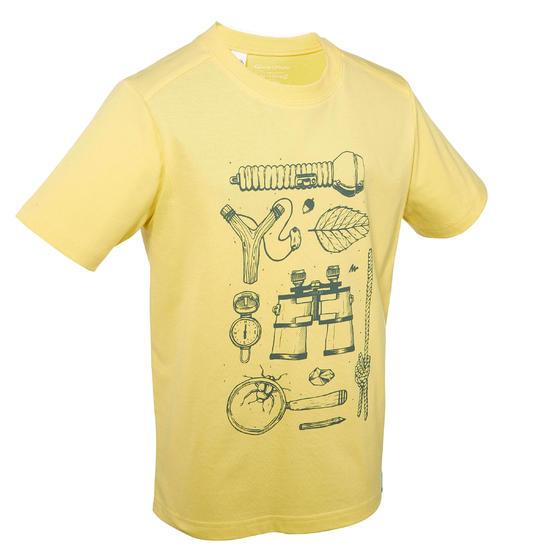 Jongens T-shirt voor wandelen Hike 500 - 767259