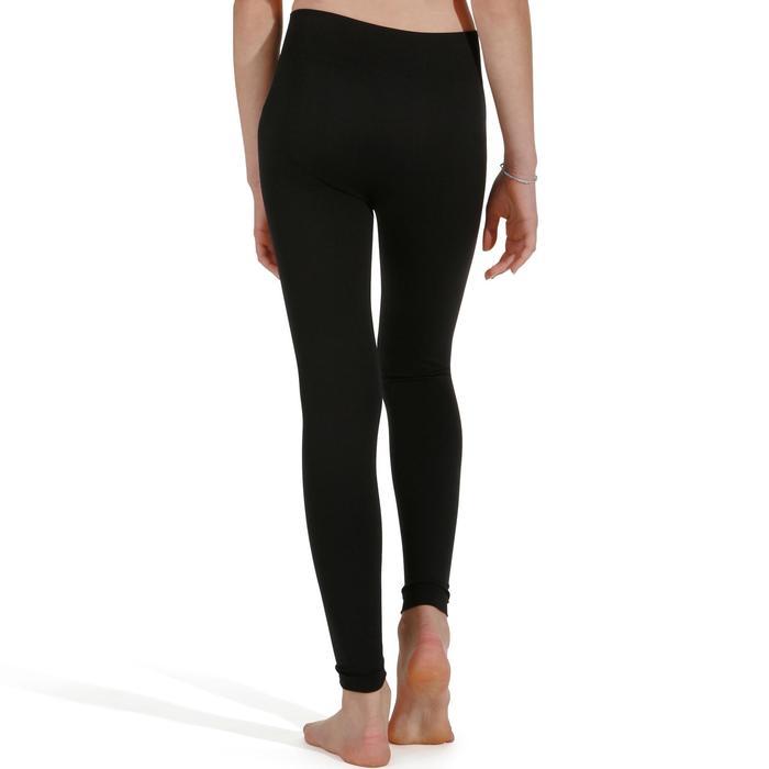 Legging Danza Moderna Domyos Niña Negro Sin Costuras