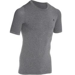 T-shirt compression...