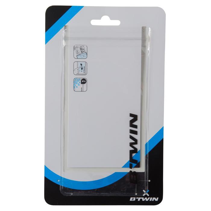 Smartphone-Hülle 100 wasserdicht weiß/transparent