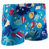 Zwemboxer Titou voor jongens zebro - 768833