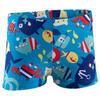 Zwemboxer Titou voor jongens zebro - 768836