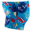 Zwemboxer Titou voor jongens zebro - 768839