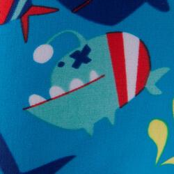 Zwemboxer Titou voor jongens zebro - 768841