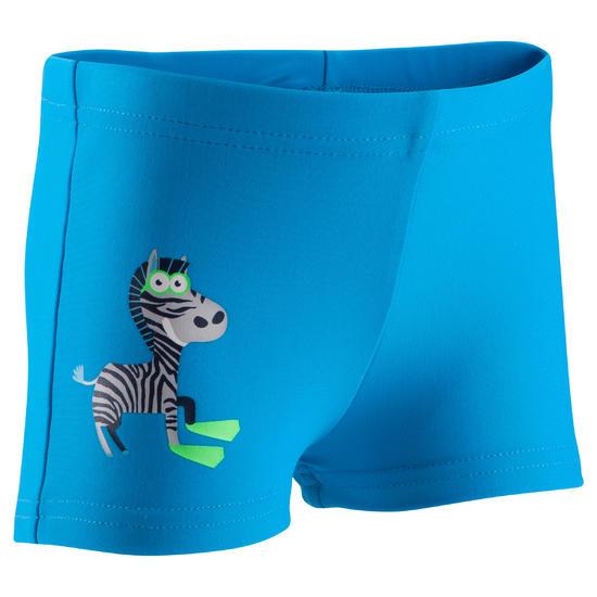 Zwemboxer Titou voor jongens zebro - 768866