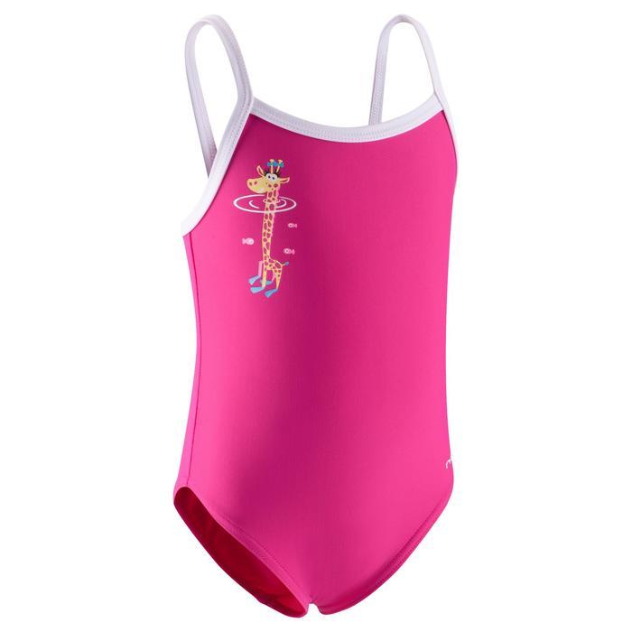 Maillot de bain bébé fille une pièce madina rose gigi - 768881