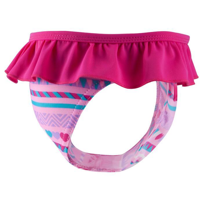 """Maillot de bain une pièce culotte bébé fille rose imprimé """"papillons"""" - 768922"""