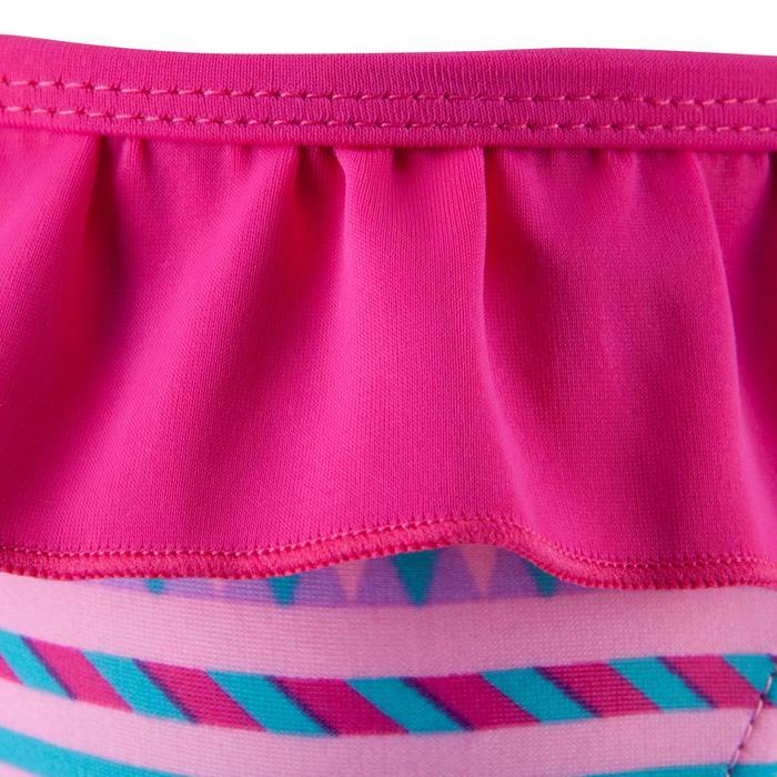 """Maillot de bain une pièce culotte bébé fille rose imprimé """"papillons"""" - 768935"""