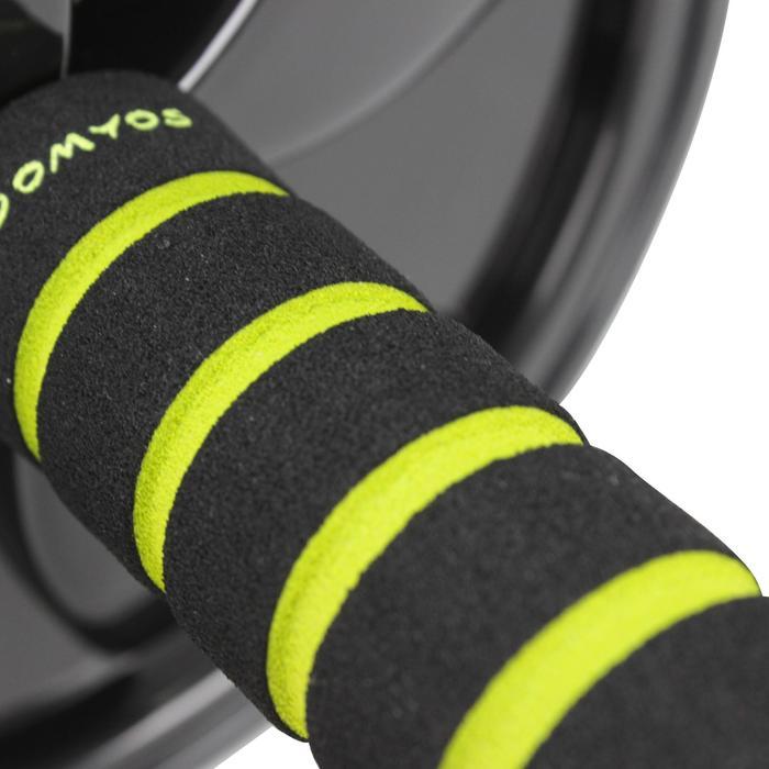 Rueda Abdominales Pilates Domyos Negro Cross Training Musculación AB Wheel