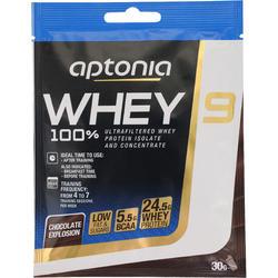 Eiwitten Whey 9 chocolade 30 g - 77847