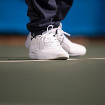 CHAUSSURES DE TENNIS TS100 Man Lace WHITE - 77970