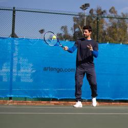 Tennisschuhe TS100 Multicourt Herren weiß