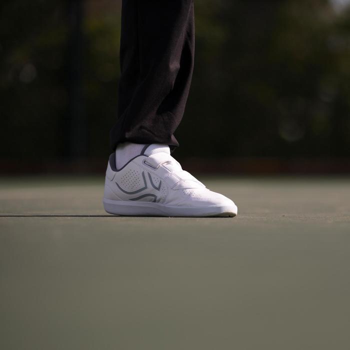 CHAUSSURES DE TENNIS TS100 Man Lace WHITE - 77974