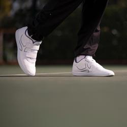 Chaussures de Tennis homme TS100 Strap blanc multi court