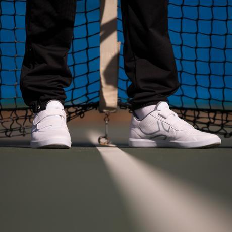 De Homme Ts100 Strap Tennis Blanc Multi Court Chaussures R4A5jL