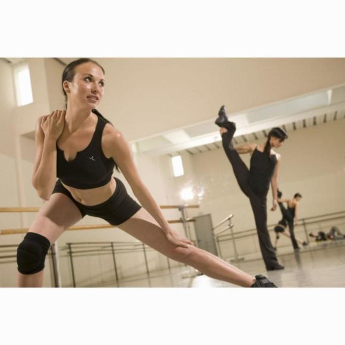 Kniebeschermers dans dames zwart