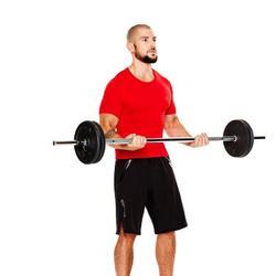 Compressieshirt fitness Muscle voor heren - 783885