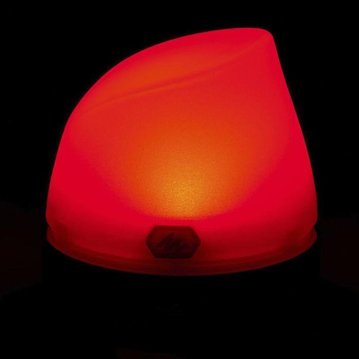 Kampeerlamp 50 lumen herlaadbaar met dynamo blauw
