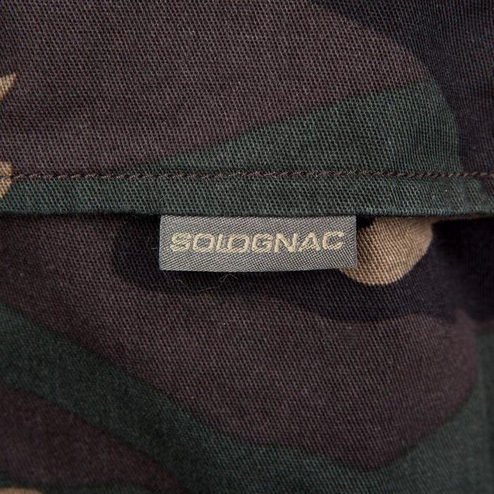 Pantalón Caza Solognac Steppe 300 Woodland Verde
