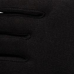 Zijden onderhandschoenen voor trekking Forclaz 100, volwassenen, zwart - 78480