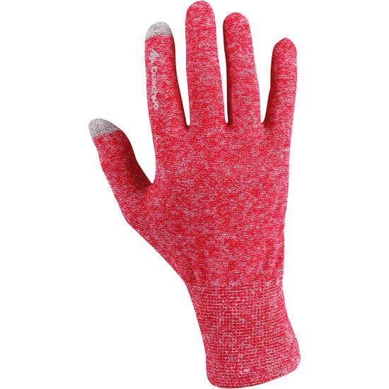 Onderhandschoenen voor trekking Forclaz 50 volwassenen zijde touch - 78481