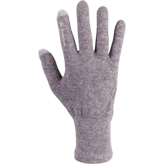 Onderhandschoenen voor trekking Forclaz 50 volwassenen zijde touch - 78487