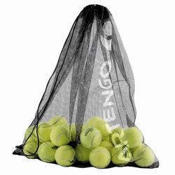 Filet de balles Tennis noir pour 60 balles