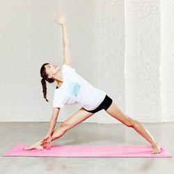 Yoga T-shirt in biokatoen voor dames - 784982