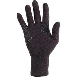 Onderhandschoenen voor trekking Forclaz 50 volwassenen zijde touch - 78499