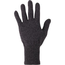Onderhandschoenen voor trekking Forclaz 50 volwassenen zijde touch - 78502