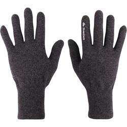 Onderhandschoenen voor trekking Forclaz 50 volwassenen zijde touch - 78505